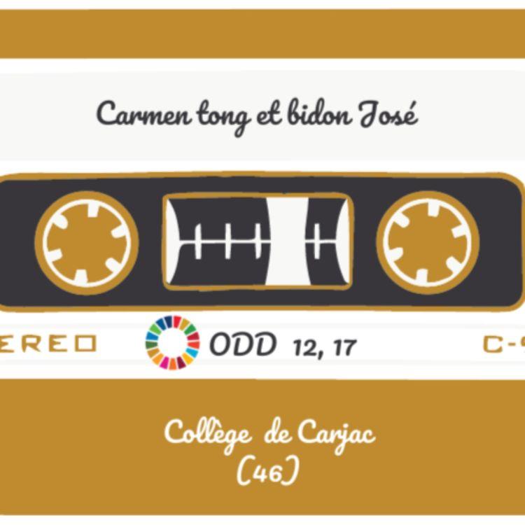 cover art for Carmen tong et bidon José - Lauréat 2021 - Prix du jury