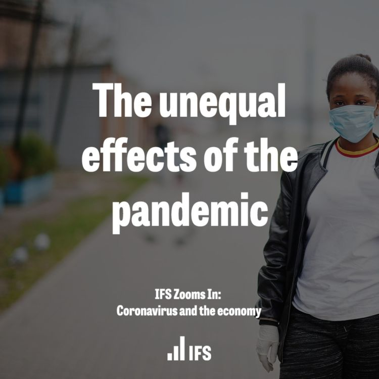 cover art for The unequal effects of the pandemic