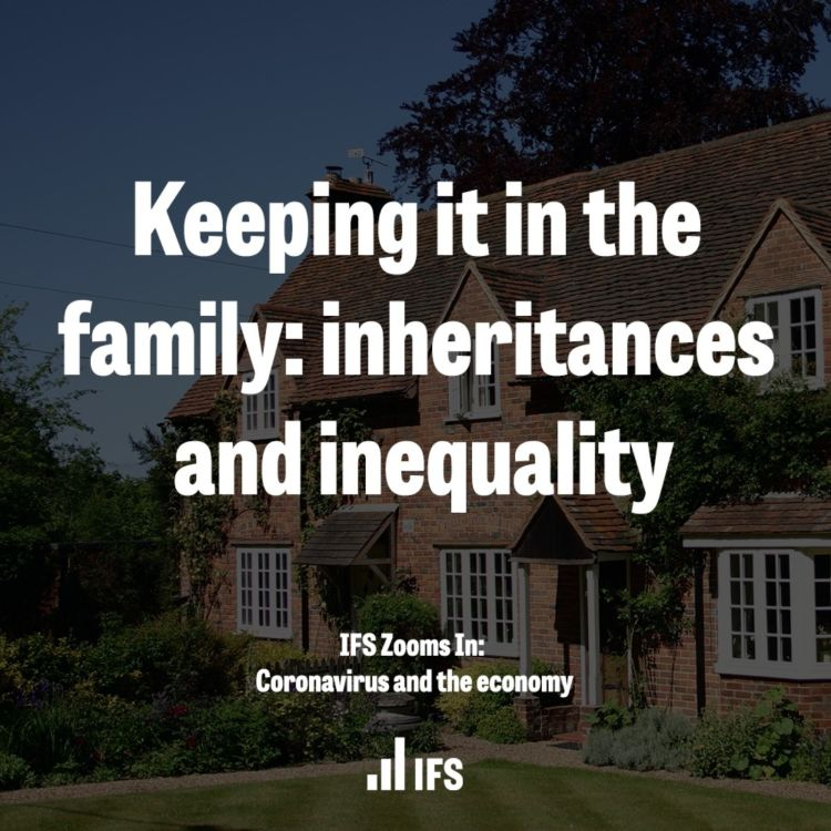 cover art for Keeping it in the family: inheritances and inequality