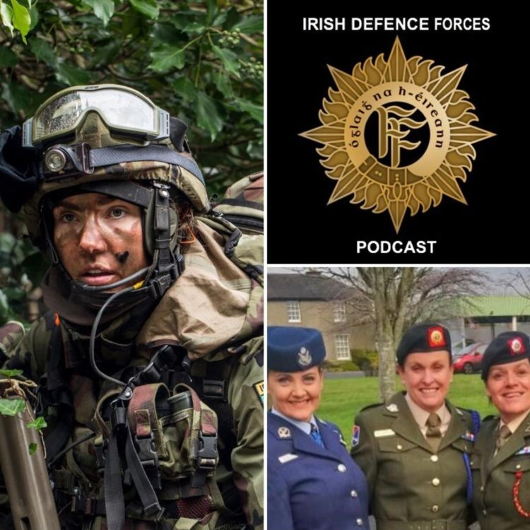 cover art for S1EP10 - 26 Years: A Career in the Defence Forces