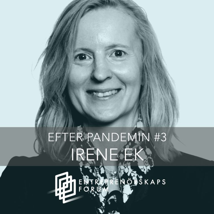 cover art for Irene Ek: AI under och efter pandemin