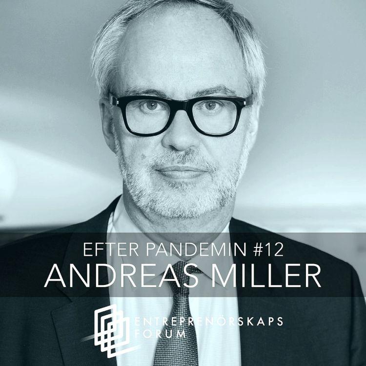 cover art for Andreas Miller: Chefers perspektiv på pandemin och återhämtningen