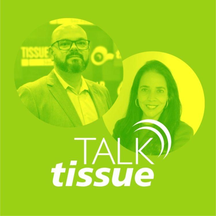 cover art for Talk Tissue com Tatiana Thomaz, fundadora e CEO da Shopper Centric Consulting