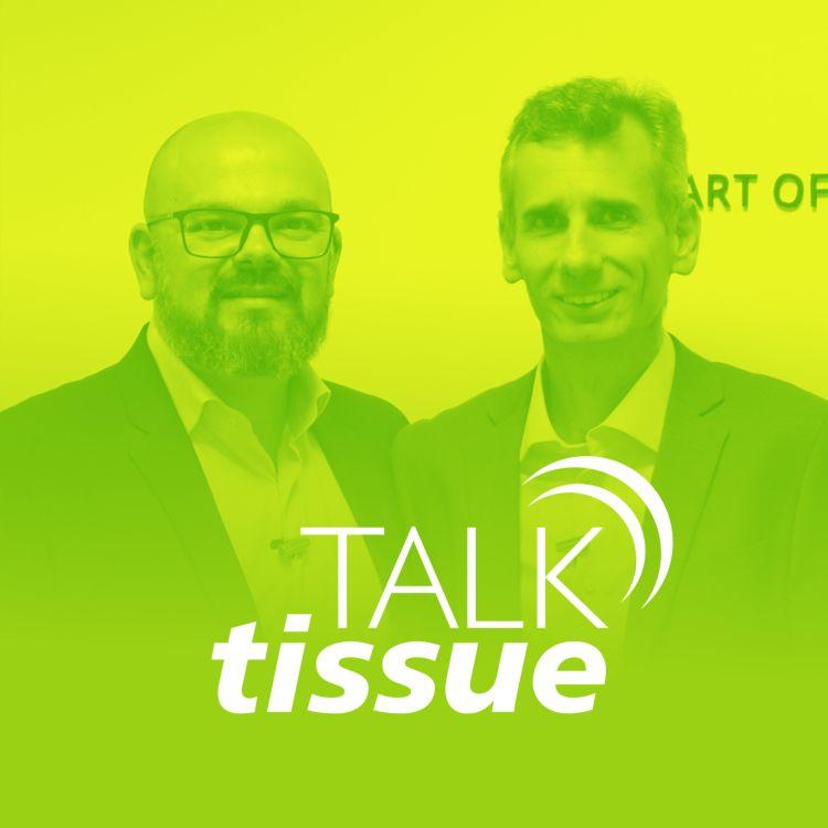 cover art for Talk Tissue com Alexandre Faria, diretor da TMC do Brasil