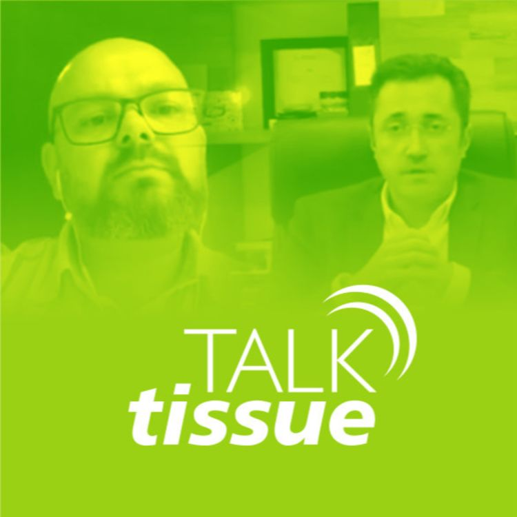 cover art for Talk Tissue com Maurício Harger, diretor geral da CMPC do Brasil