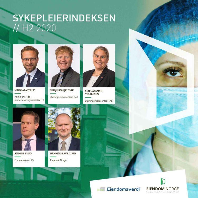 cover art for E31 - BONUSPOD: Oppdatert sykepleierindeks 2020 med boligdebatt