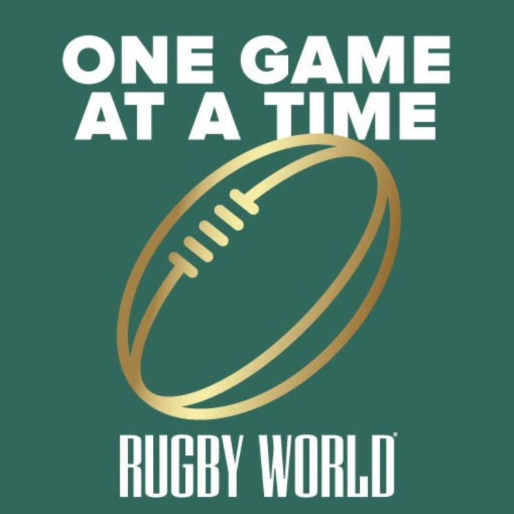 cover art for Rugby World Magazine's 'One Game at a Time' - Sir Gareth Edwards