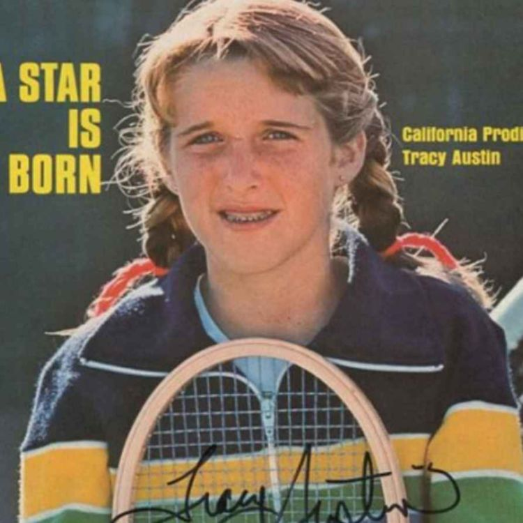 cover art for World #1 and Hall of Famer Tracy Austin