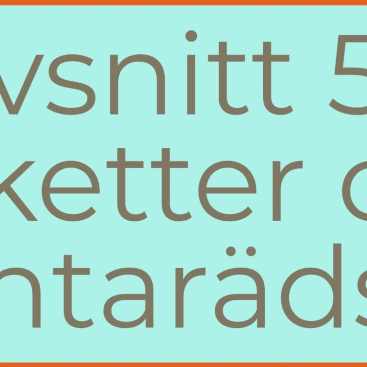 cover art for 58. Etiketter och tentarädsla