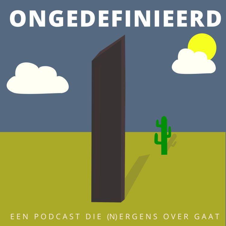 cover art for Ongedefinieerd 29, over Pies, Monoliths en de sneltest