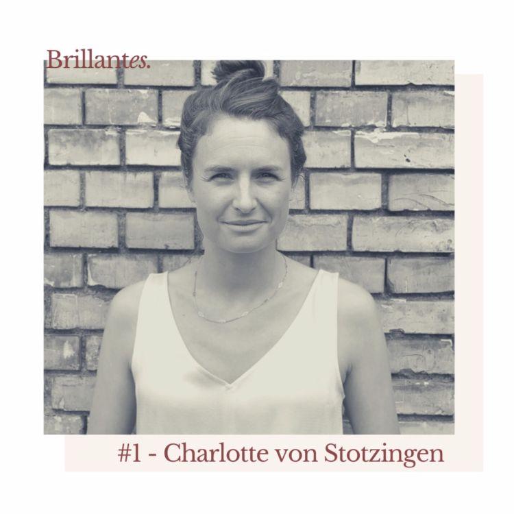 cover art for #1 - Charlotte von Stotzingen:  At the crossroads between art and humanitarian work
