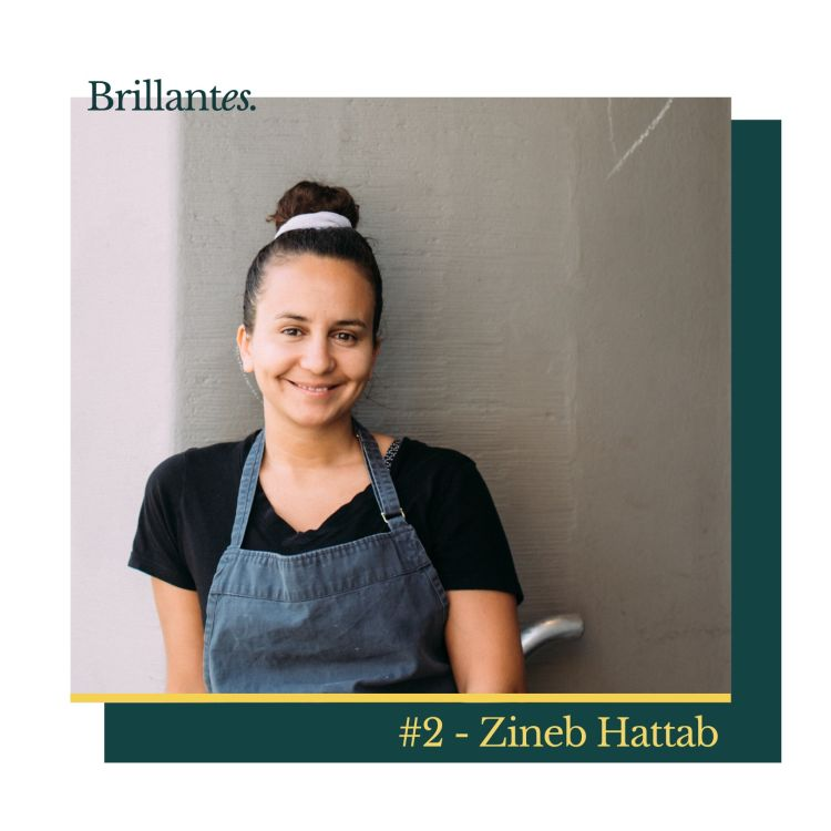 cover art for #2 - Zineb Hattab, from engineering to haute (vegan) cuisine