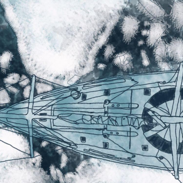 """cover art for Episode 06 : """"Pris dans la glace"""""""
