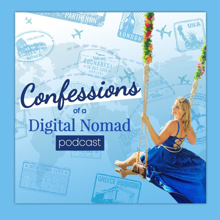 cover art for Confessions of a Digital Nomad Teaser