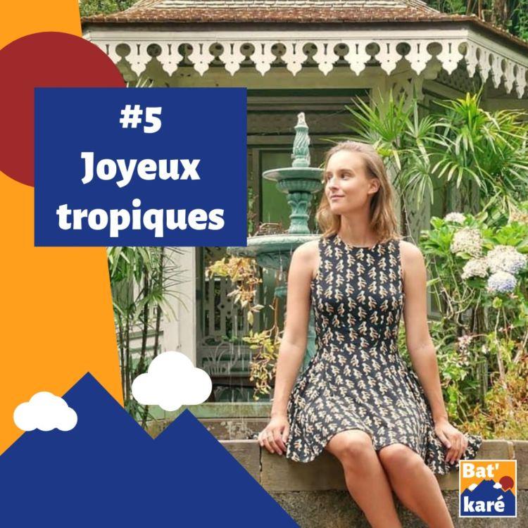 cover art for #5 - Joyeux tropiques : Entre La Réunion et ailleurs