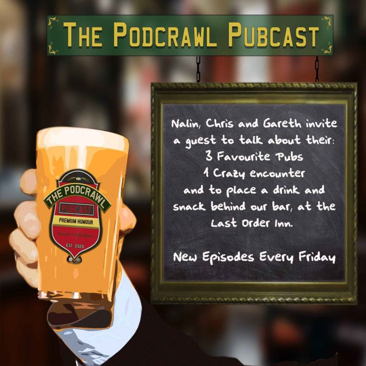cover art for The Podcrawl Pubcast - Trailer