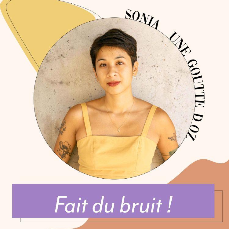 cover art for Sonia (une goutte d'oz) - Fait du bruit !