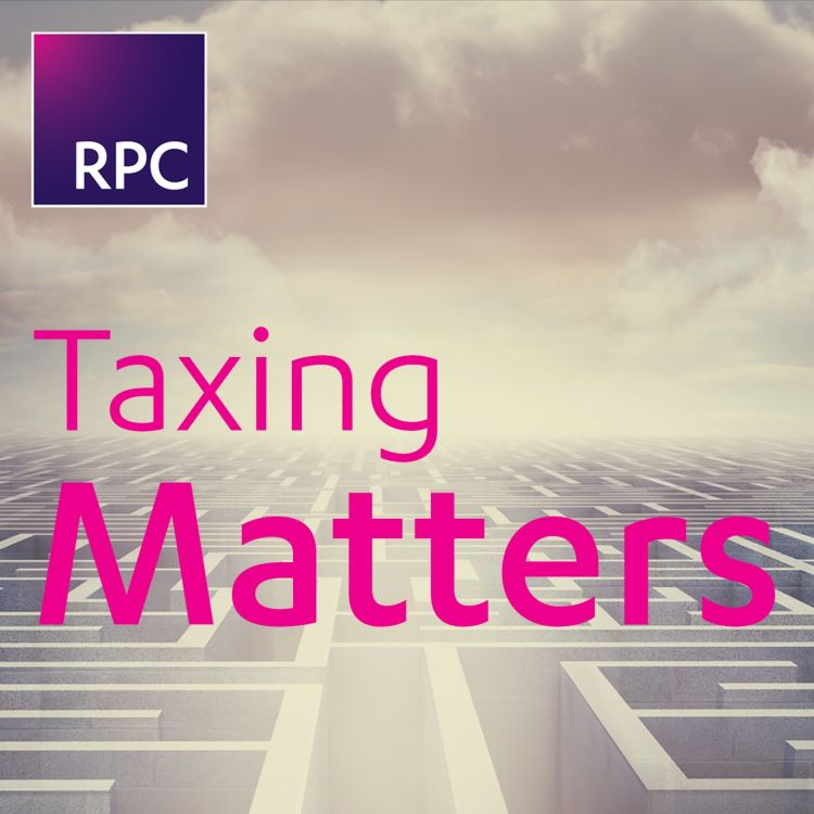 cover art for Taxing Matters: Predicting the tax world of the future
