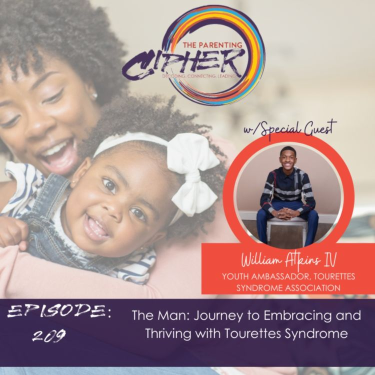 cover art for The Man: Journey to Embracing and Thriving with Tourettes Syndrome