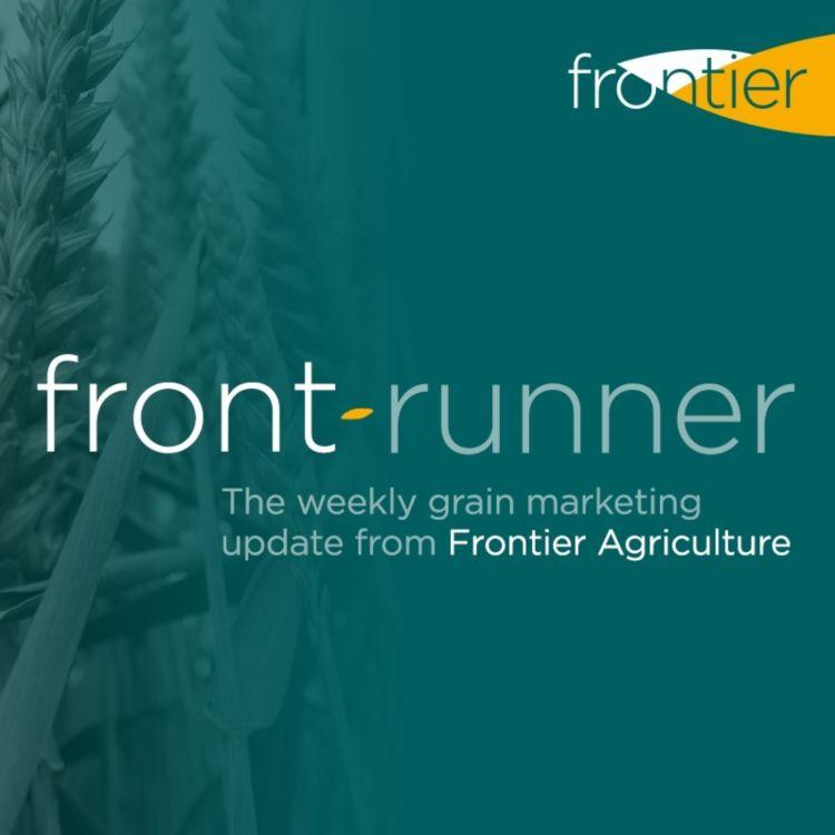 cover art for Frontrunner - 14th August 2020