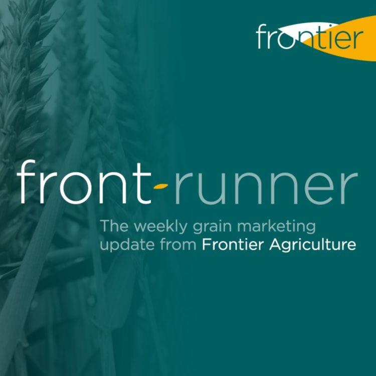 cover art for Frontrunner - 25th September 2020