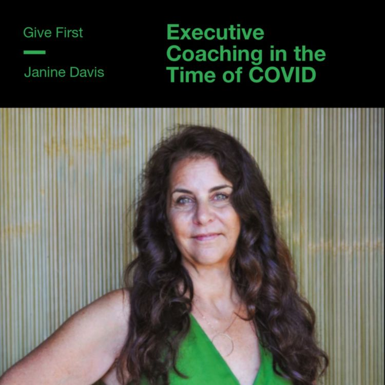 cover art for Janine Davis on Executive Coaching in the Time of COVID