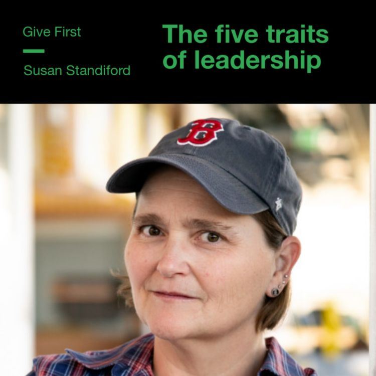 cover art for Susan Standiford on the five traits of leadership