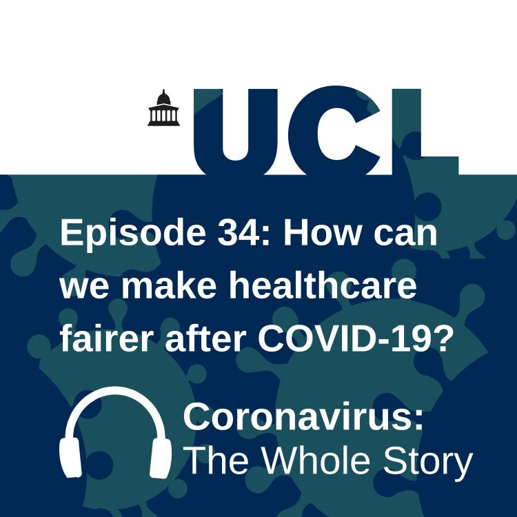 cover art for How can we make healthcare fairer after COVID-19?