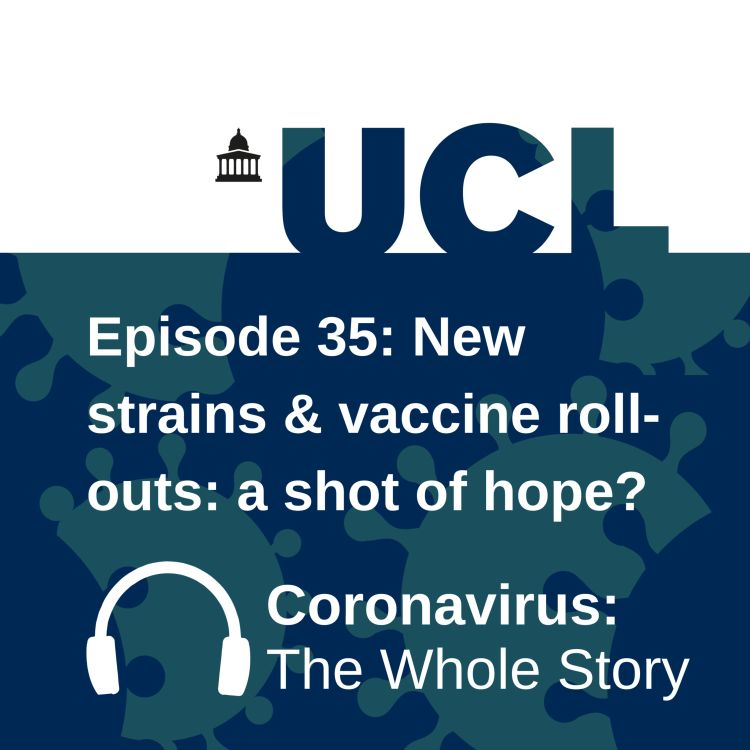 cover art for New strains and vaccine roll-outs: a shot of hope?
