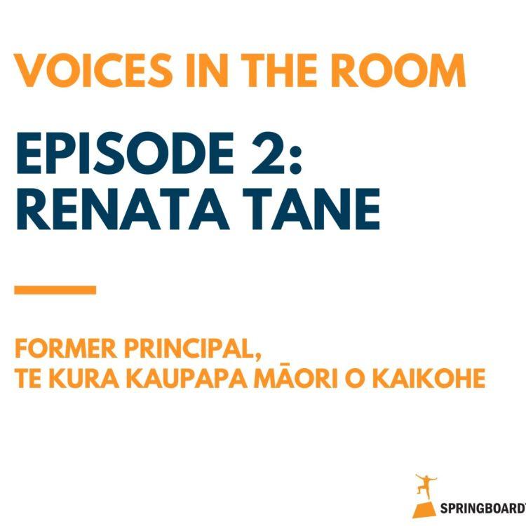 cover art for Episode Two: Renata Tane