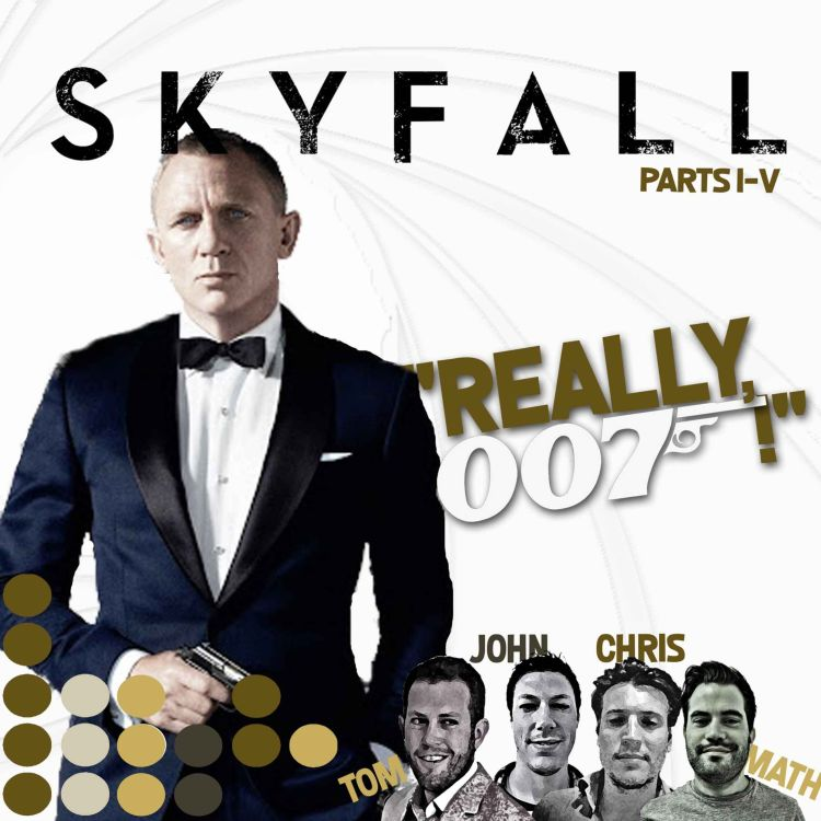 cover art for Skyfall review - part 4