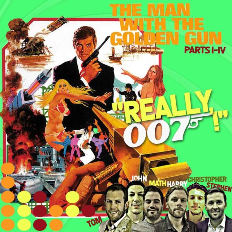cover art for The Man With The Golden Gun review - part 5