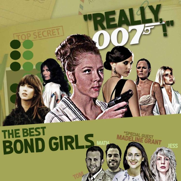 cover art for The Best Bond Girls - part 1