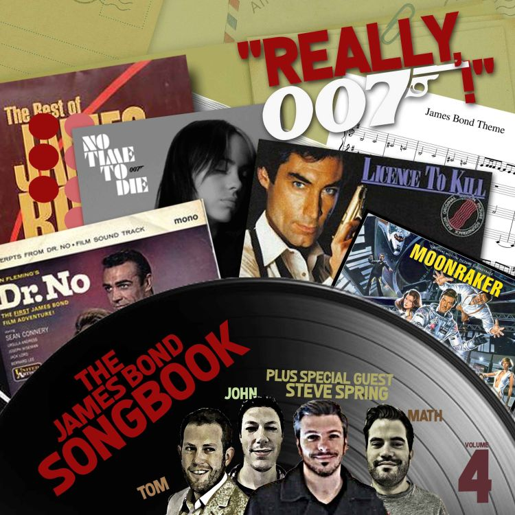 cover art for The James Bond Songbook Vol. 4