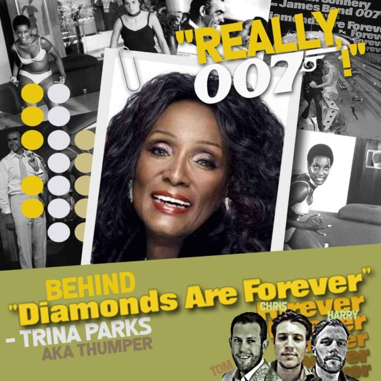cover art for Behind Diamonds Are Forever - Trina Parks interview