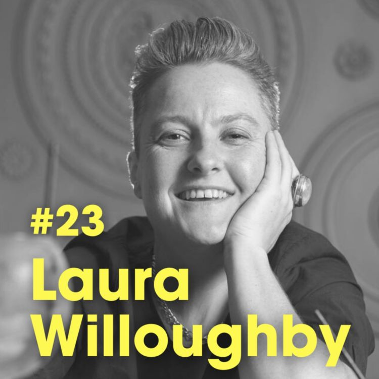cover art for Ep #22 - 'How To Drink More Mindfully This Xmas' with Laura Willoughby