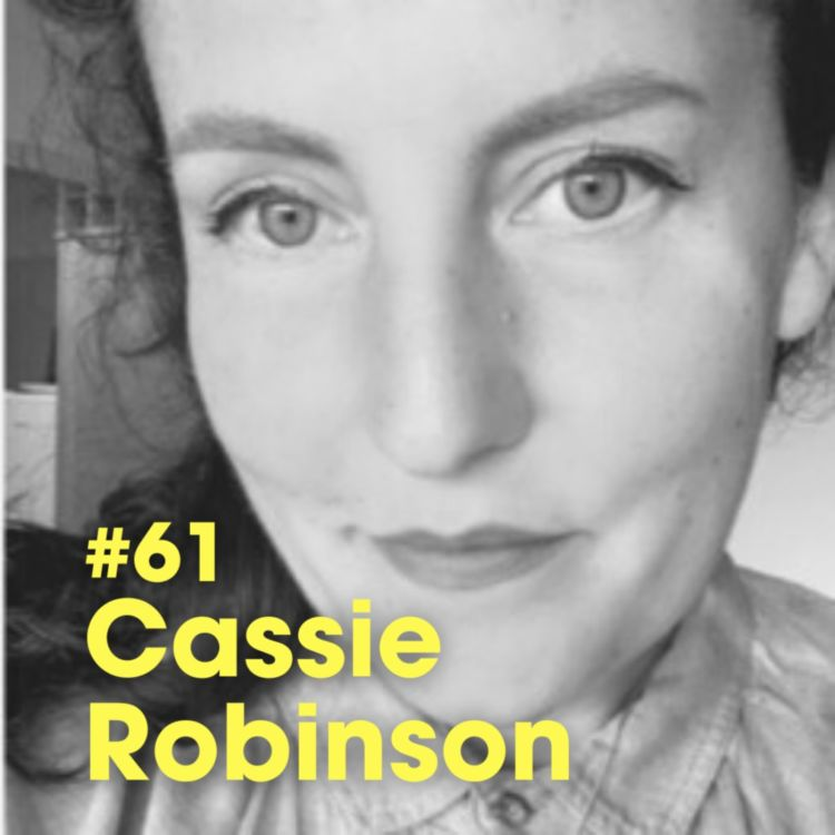 """cover art for """"Where To Find Hope"""" w/ Cassie Robinson - #Ep 61"""