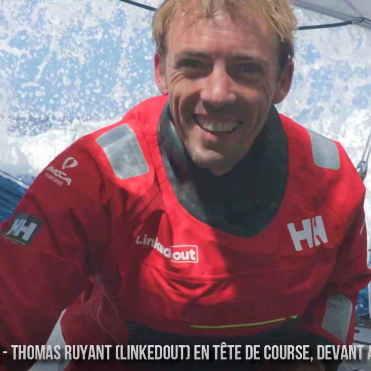 cover art for Vendée Globe 2020 - Thomas Ruyant nouveau leader de la flotte
