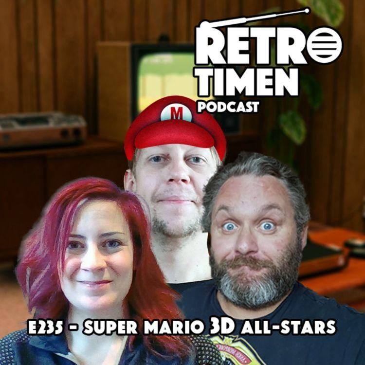 cover art for E235 - Super Mario 3D All-Stars