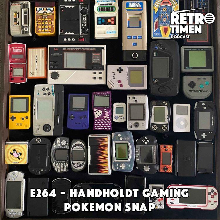 cover art for E264 - Håndholdt gaming, Pokemon Snap
