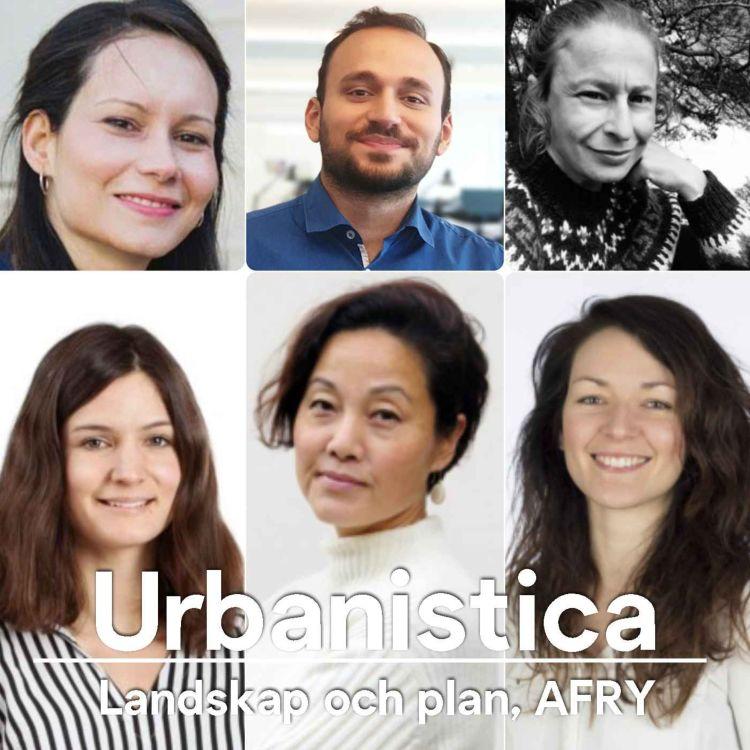 cover art for 194.SWE Samtal med mina kollegor om distansearbete - Landskap och plan, AFRY