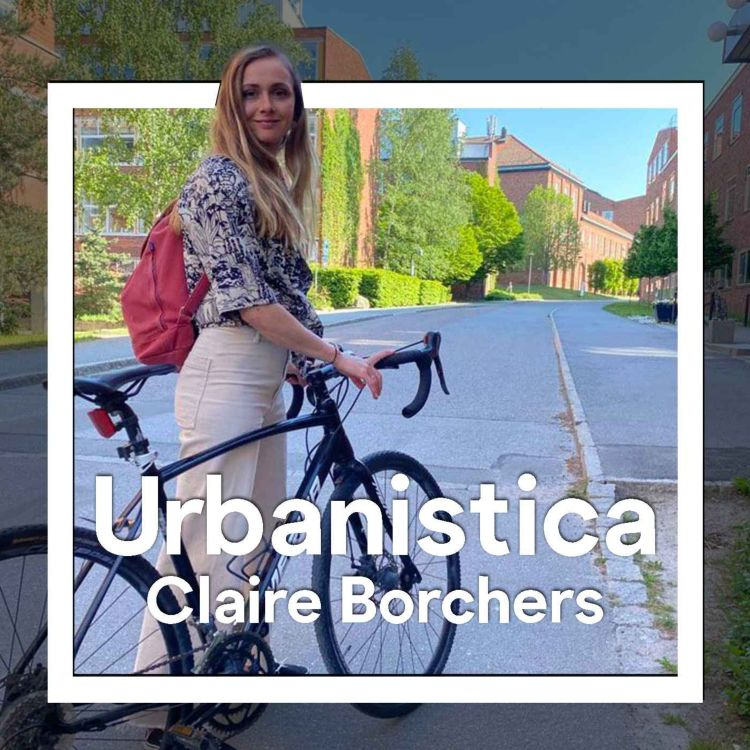 cover art for 213.ENG Follow up, student life in Stockholm - Claire Borchers