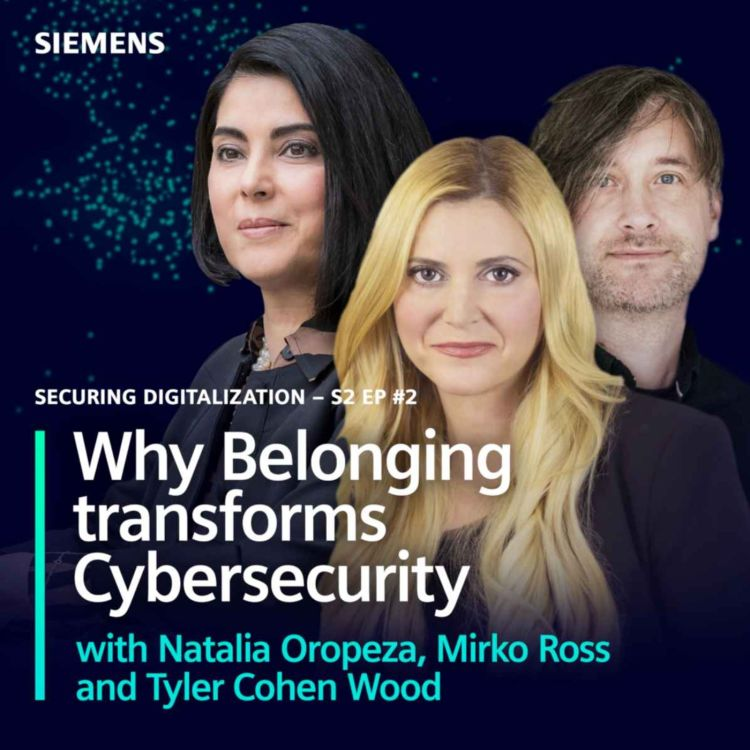 cover art for Why Belonging transforms Cybersecurity