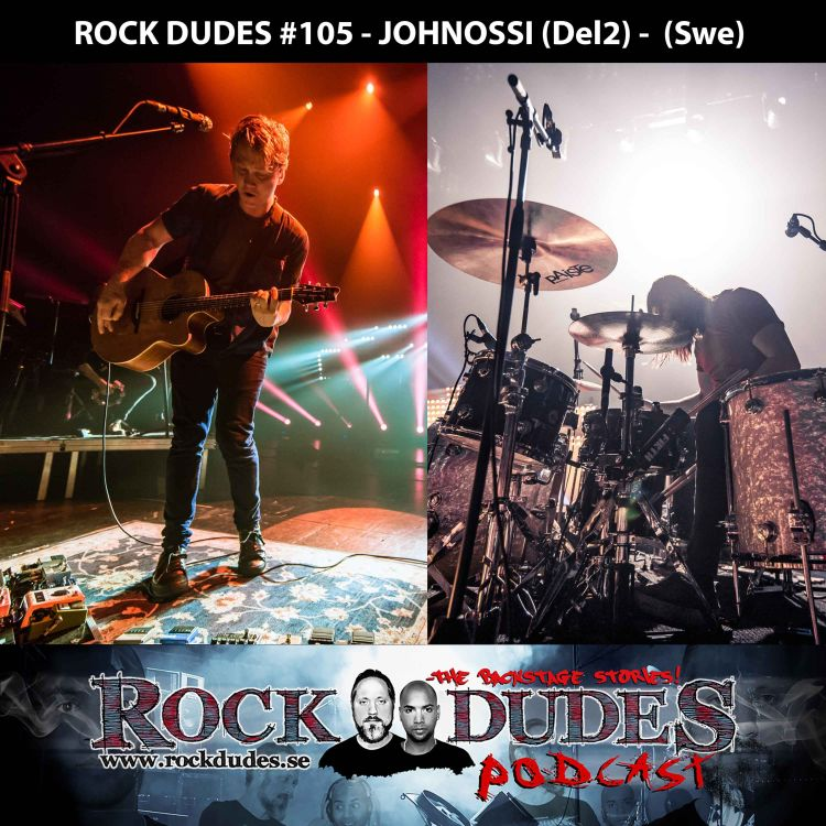 cover art for Rock Dudes #105 - JohnOssi (Del2) - (Swe)