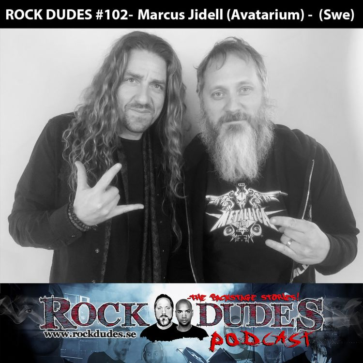 cover art for Rock Dudes #102 - Marcus Jidell (Avatarium) - (Swe)