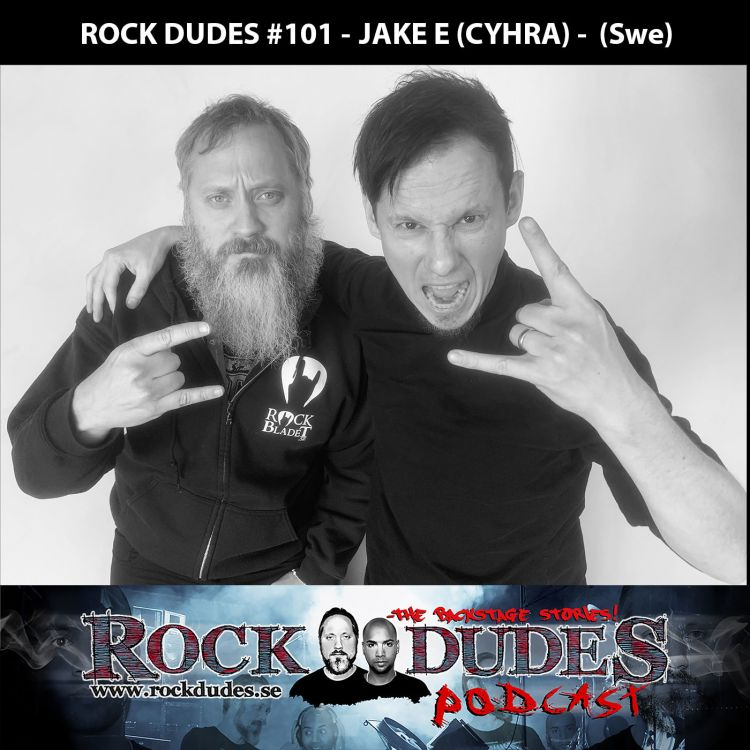 cover art for Rock Dudes #101 - JAKE E (Cyhra) - (Swe)