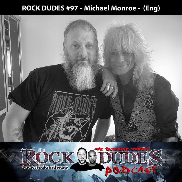 cover art for Rock Dudes #97 - Michael Monroe - (Eng)