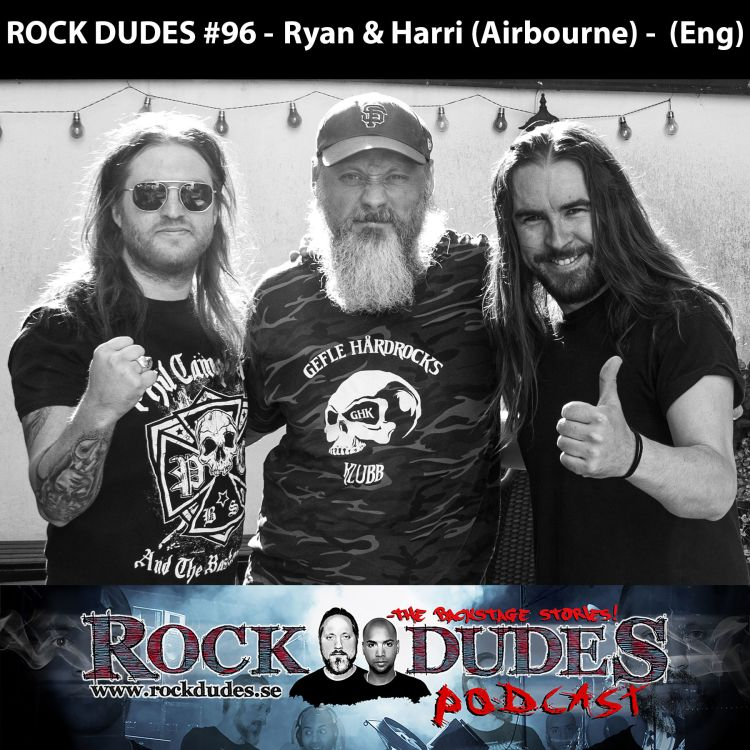cover art for ROCK DUDES #96 - Ryan & Harri (Airbourne) -  (Eng)