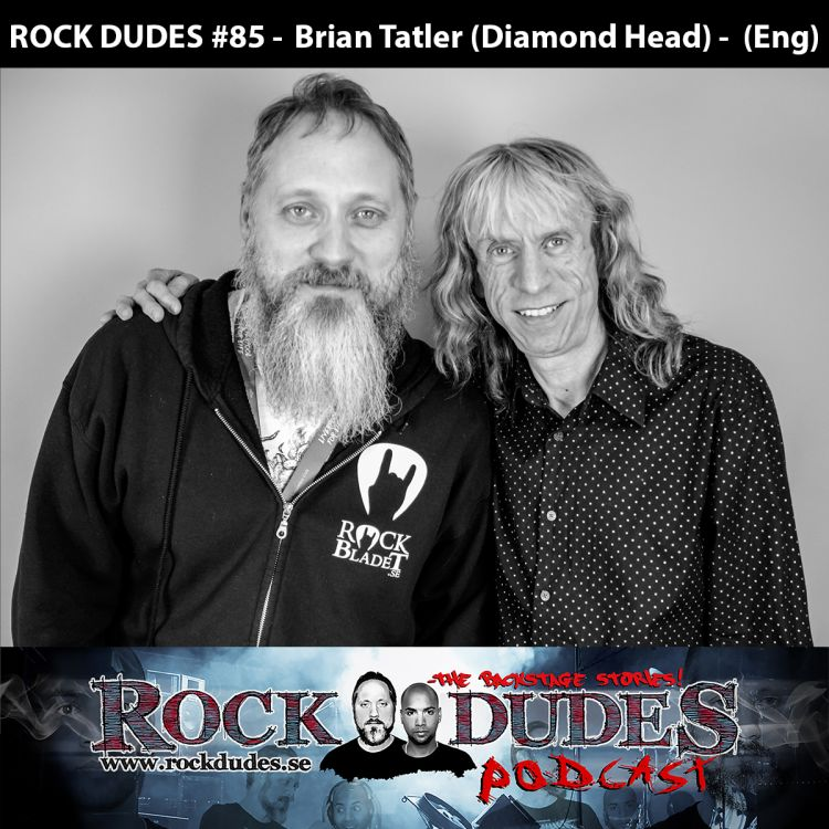 cover art for Rock Dudes #84 - Brian Tatler (Diamond Head) - (Eng)
