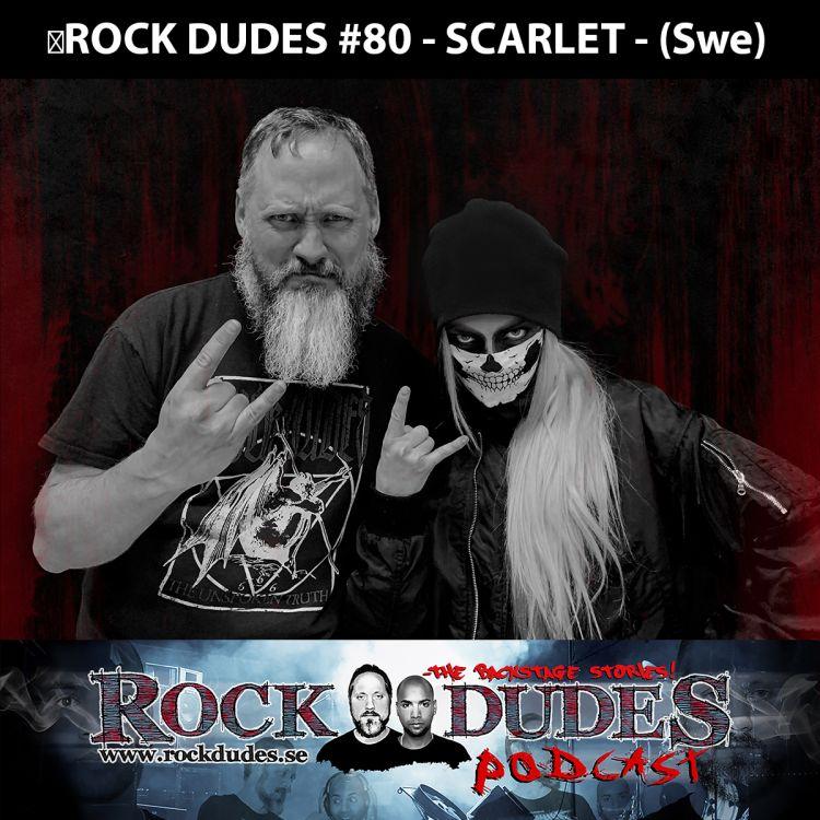 cover art for Rock Dudes #80 - Scarlet - (Swe)